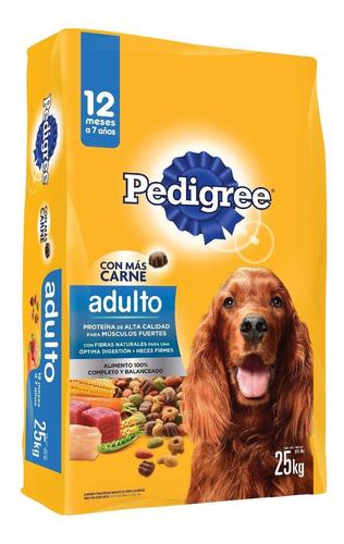 Alimento Para Perro Pedigree Adulto Nutrición Bulto 25 Kg