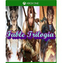Fable 1, 2, 3 Xbox One Costo X Todo!!