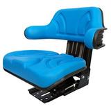 Asiento Para Tractor Color Azul Universal