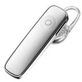 Mini Audífono Bluetooth Manos Libres 1 Pieza Blanco