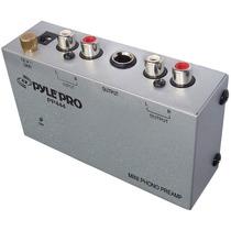Pyle Pro Pp444 Preamplificador Phono Para Tornamesas D Vinil