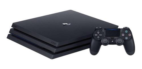 Sony Playstation 4 Pro 1tb Standard Jet Black
