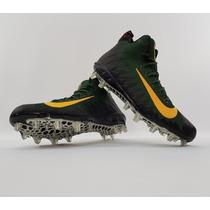 Tachones Nike Alpha Menace Pro Mid Gree Bay Núm. 30 Mx en