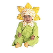 Disfraz De Flor Primavera Niña Bebe Talla 12-18 Meses