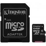 Memoria Micro Sd Hc 64gb Kingston Cl 10 G2 C/a Sdc10g2/64gb