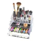Organizador Para Cosmeticos Acrilico Maquillaje Cosmetiquera