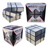 Cubo Rubik Magico Espejo Plateado 3x3 Cube Mirror 5.8cm