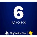 Playstation Plus 6 Meses Ps, Ps4, Ps Vita. Envio Inmediato!