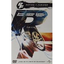 Rapido Y Furioso La Coleccion Trilogia Boxset Peliculas Dvd