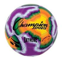 Balón De Fútbol Del Teñido Anudado Campeón Deportes Extremos