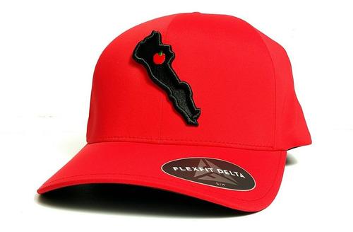 eacb07bd89aa Gorra Flexfit Delta Estado Sinaloa Rojo Negro Repelente en venta en ...
