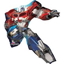 Globo Transformers 6 Pzas Medida 14 Pulgadas Centro De Mesa