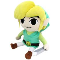The Legend Of Zelda Wind Waker Hd Peluche Grande De Link
