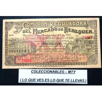 Billete De La Comicion Reguladora Del Mercado Del Henequen