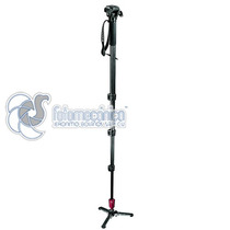 Manfrotto 560b-1 Monopié Para Video Con Cabeza, Soporta 2 Kg