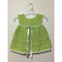 Vestido Tejido A Crochet De 2 Piezas Para Niña De 1 3 Años