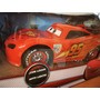 Carro Control Remoto Rayo Mcqueen Grande Cars Pixar Disney