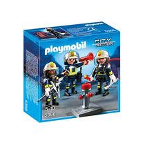 Playmobil 5366. Equipo De Bombreos. Playmotiendita