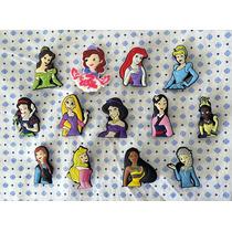 Disney Princesas Pvc Accesorios D Zapatos Niña Crocs Oferta!