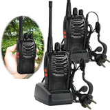 2pcs Walkie Talkie 2-way Radio Largo Alcance Tranceiver Hm