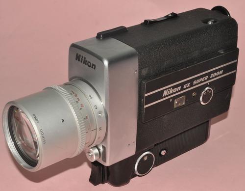 9004ef9f70 Camara De Cine Nikon 8x. Super 8. Buena.