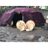 Tambor Chamánico 40 Cm Para Ceremonias De Temazcal