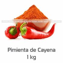 Pimienta Cayena Original Chile Cayene Especias 1kg 2clicmx