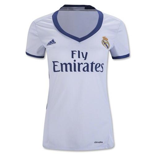 Jersey Real Madrid Para Dama Local e30f986ebc9e5