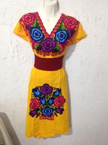 d487586f6d 1 Vestido Bordado De Chiapas en venta en Explanada del Carmen San Cristóbal  De Las Casas Chiapas por sólo   450