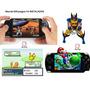Consola Portatil Retro Tipo Psp + 500 Juegos Super Nintendo