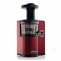 Extractor Jugo Omega Vert Slow Juicer Vsj843qr Red