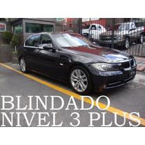 Bmw 335 2009 Blindado Nivel 3 Plus Biturbo Recibo Auto