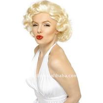 Peluca Completa De Marilyn Monroe - Plancha Ondula Lava