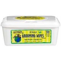 Earthbath Todos Naturales Grooming Wipes Hipoalergénico, 10
