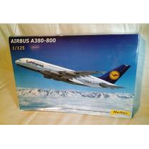 Airbus A380 Lufthansa Enorme 1/125 Armar Heller Nuevo Maa