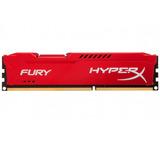 Kingston Memoria Hyperx Fury 8gb 1866mhz Ddr3 Roja