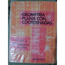 Libro Geometria Plana Con Coordenadas De La Serie Schaum