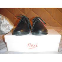 Zapatos Flexi Para Dama Color Negro Número 23
