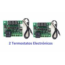 2 Termostatos Electrónicos Para Incubadora