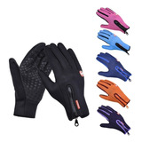 Guantes Touch Impermeables Repelentes Termicos Motocicleta