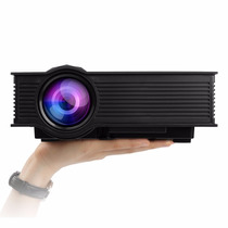 Proyector Mileagea Led Projector Mini Portable Multimedia 10