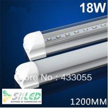 Tubo De Led T8 1.2m De 18w Con Base De Aluminio