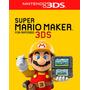 °° Super Mario Maker 3ds Para 3ds °° En Bnkshop