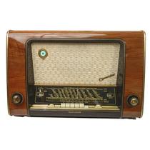 Radio Antiguo Alemán Telefunken Concertino 53 De 4 Bandas