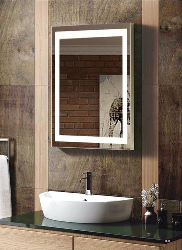 espejo par bao electrnico con luz led integrada de xcm
