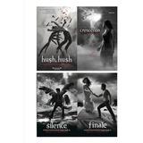 Saga De Hush Hush, Crescendo, Silencio, Finale + Libro Grati