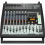 Mezcladora Amplificada, 500 Watts/12 Ch Behringer Pmp500