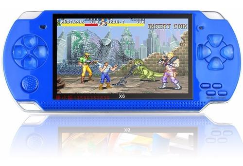 Consola Psp X7 Versión Mejorada X6 Con 10000 Juegos 4.3''