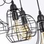 Lampara Industrial Rustica Vintage Colgante Edison Decora