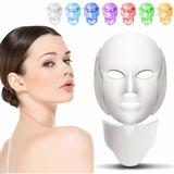 Máscara Led Para Eliminar Acné/arrugas Para Rostro Y Cuello